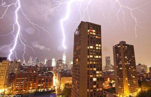 flash lightning new york